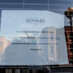 Howard Theater closed
